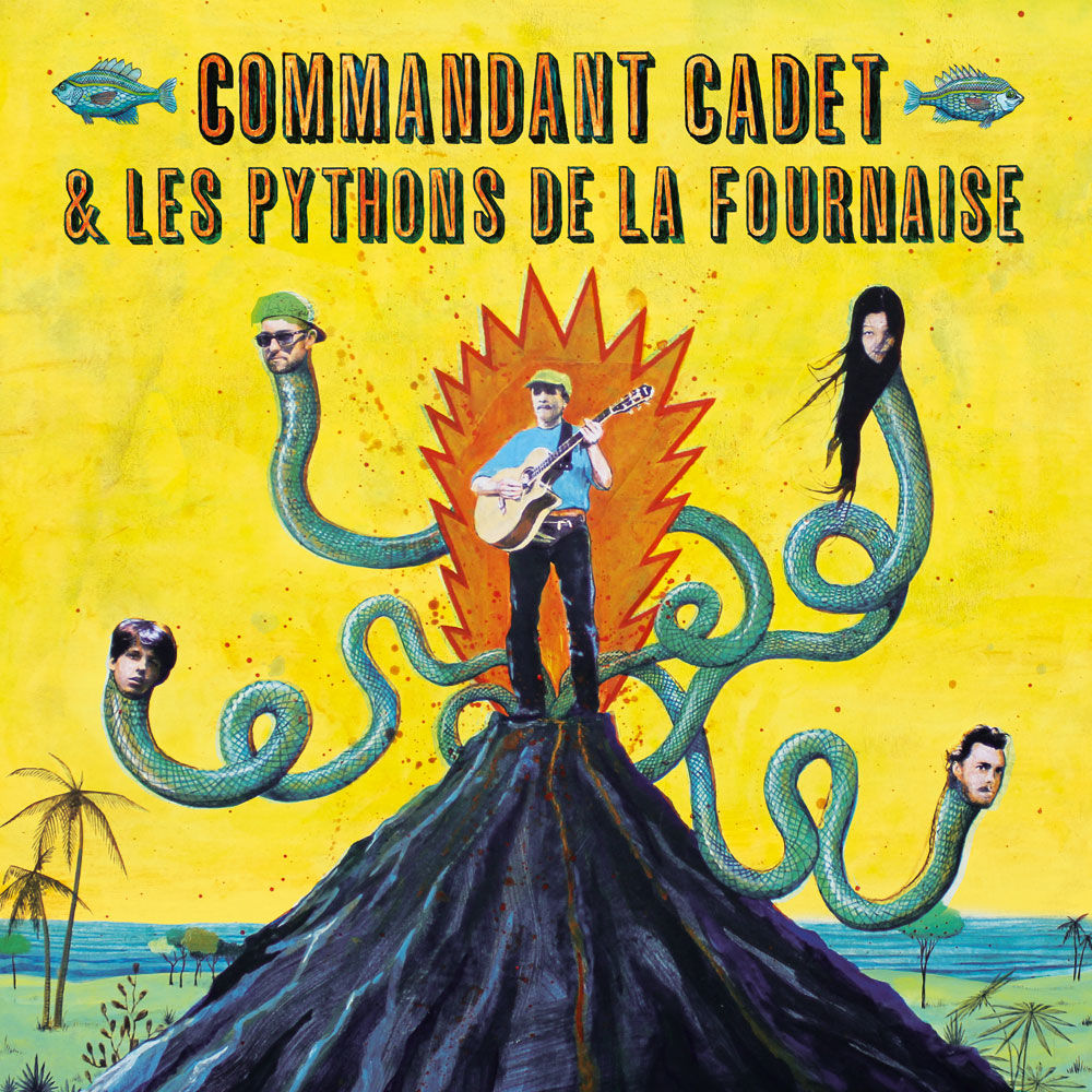 Pythons de la Fournaise